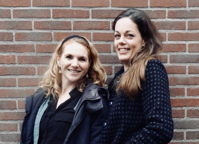 Karin Strobos en Else Sterk