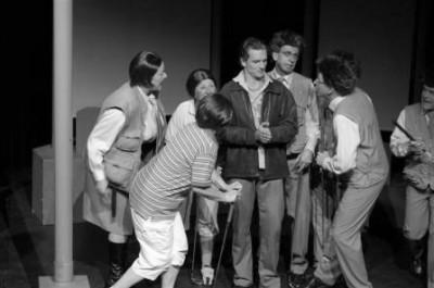 Theatergroep Waark - Figaro let zok schaaiden